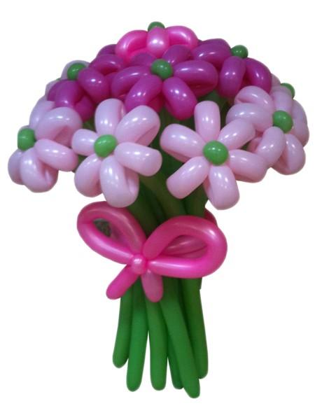 Средний букет цветов