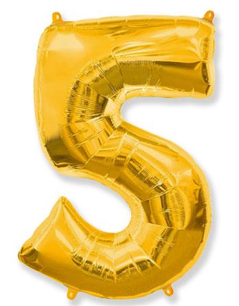 """Цифра """"5"""" (разные цвета)"""