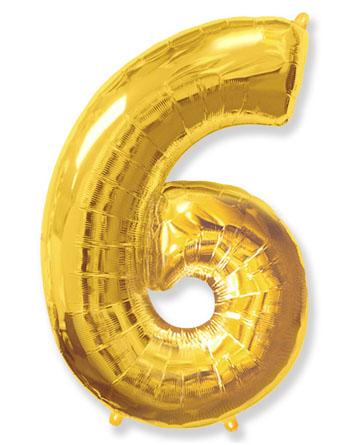 """Цифра """"6"""" (разные цвета)"""