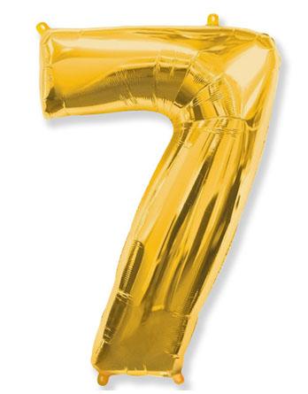 """Цифра """"7"""" (разные цвета)"""