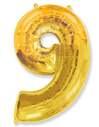 """Цифра """"9"""" (разные цвета)"""