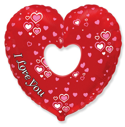 "Сердце ""I love you"""