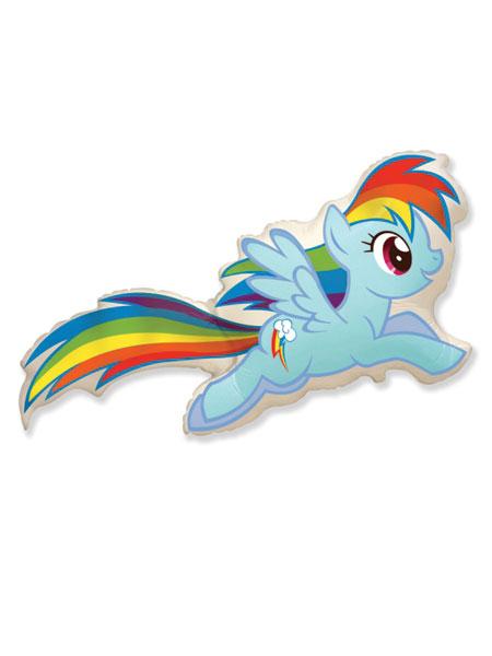 Пони Rainbow dash