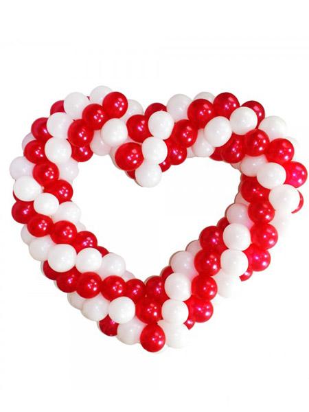 Сердце из шариков