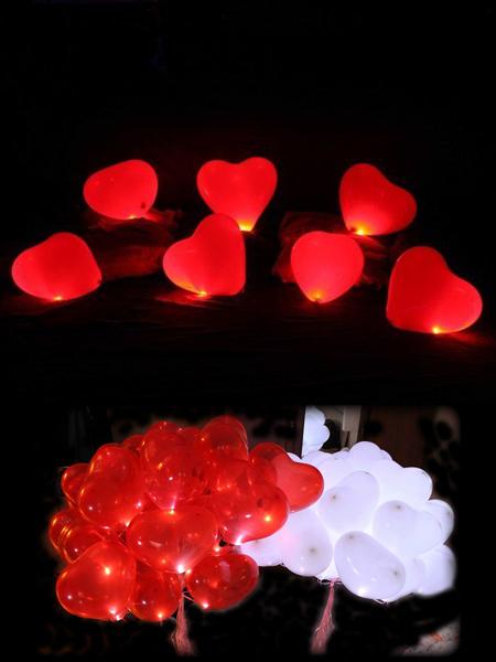 Светящиеся сердечки