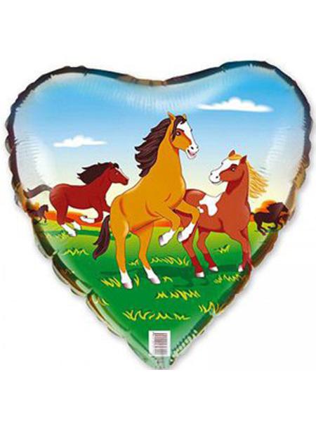 Сердечко с лошадкой