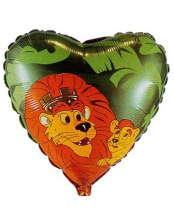 Сердечко со львом