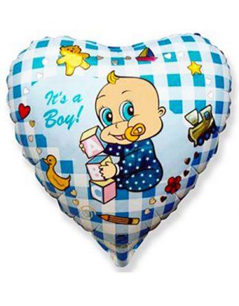 """Сердечко """"It's a boy"""""""