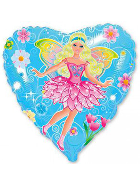 Сердечко с розовой феей