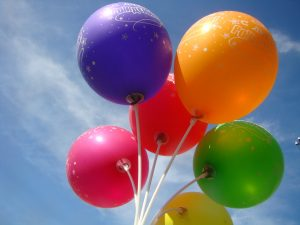 Латексные шары: где применить