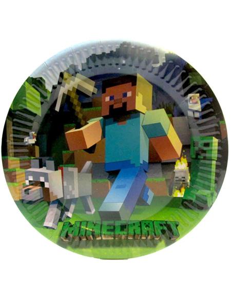"Тарелка ""Minecraft"""