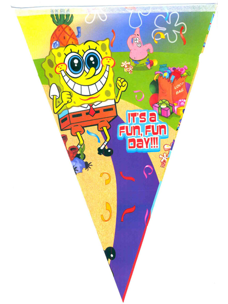 """Флажки """"Sponge Bob"""""""