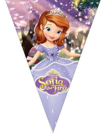 "Флажки ""Sofia the first"""