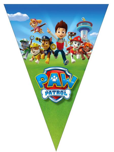 """Флажки """"Paw patrol"""""""