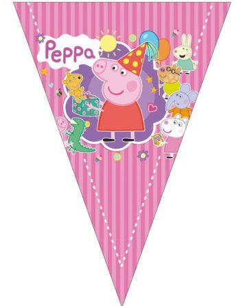 Флажки с Пеппой