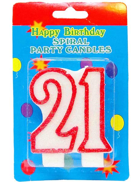 Юбилейная свеча - 21