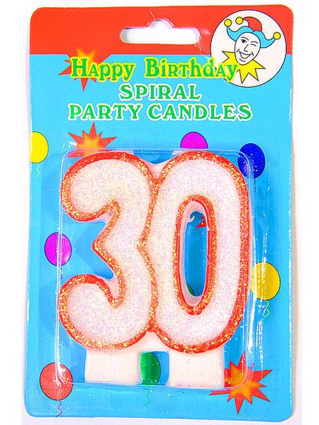 Юбилейная свеча - 30