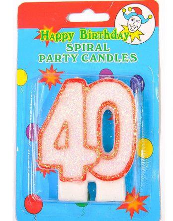 Юбилейная свеча - 40