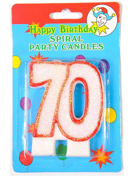 Юбилейная свеча - 70
