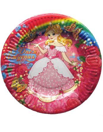 Тарелка с принцессой №2