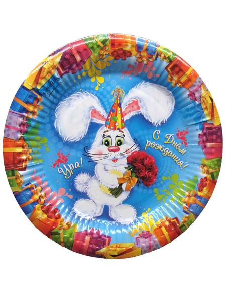 Тарелка с кроликом