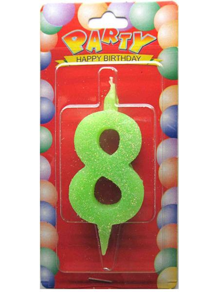 """Свечи-цифры """"8"""""""