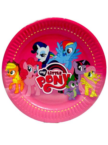 """Тарелка """"Little pony"""" №2"""