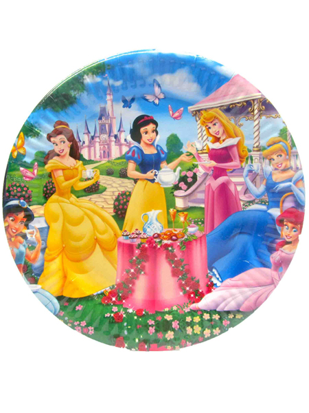 Тарелка с принцессами №2