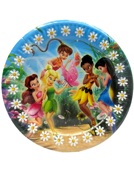 Тарелка с феями