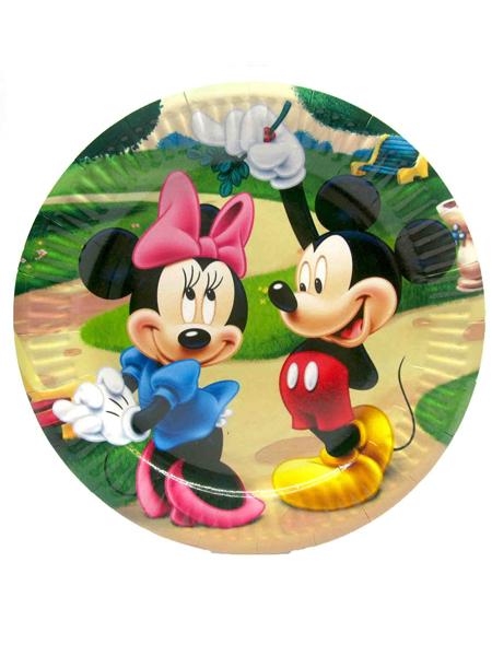 Тарелка с Микки
