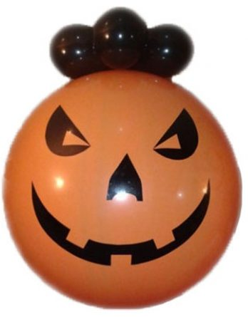 Хэллоуинский шар сюрприз