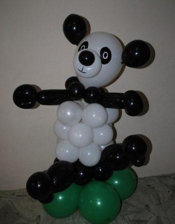 Панда из шариков
