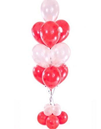 Фонтанчик из 9 шариков