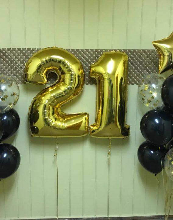 двадцать один