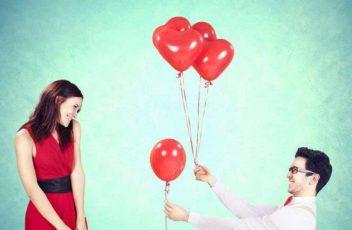 Как помириться с девушкой? Ответ – в воздушных шариках