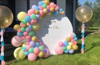 Создание идеальной фотозоны с использованием воздушных шариков